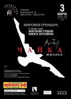 """Мюзикл """"Чайка"""" В гл.р.:Анастасия Стоцкая и Никита Пресняков"""